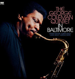 New Vinyl George Coleman Quintet- In Baltimore -BF20