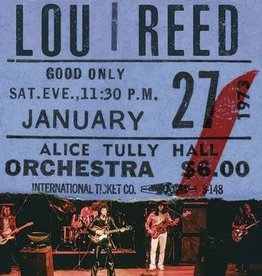 New Vinyl Lou Reed- Live At Alice Tully Hall - January 27, 1973 - 2nd Show -BF20