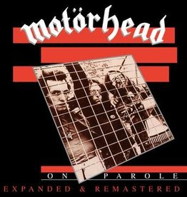 New CD Motorhead- On Parole (Expanded and Remastered) -BF20
