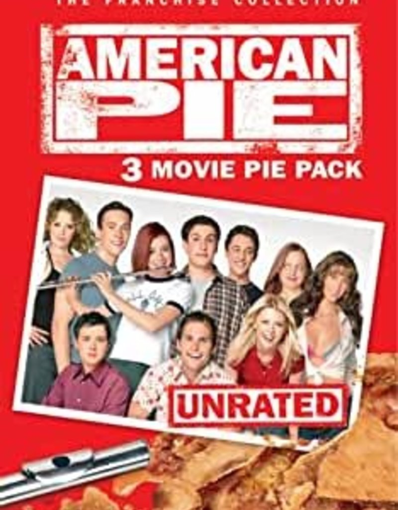 Used DVD American Pie 3-Movie Pie Pack