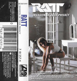 Used Cassette Ratt- Invasion of Your Privacy