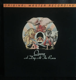 Used Vinyl Queen- A Day At The Races (1996 MoFi)(Sealed)(Anadisq 200g)(#295)