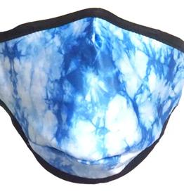 Fydelity Face Mask: Blue Tye Dye