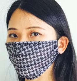 Fydelity Face Mask: Houndstooth Grey