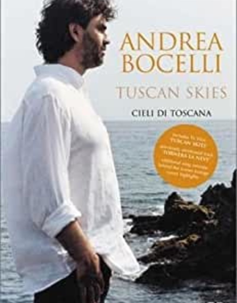 Used DVD Andrea Bocelli- Tuscan Skies
