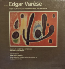 Used Vinyl Edgar Varese- Music Of Edgr Varese