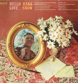 Used Vinyl Hank Snow- Hello Love