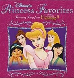 Used CD Disney's Princess Favorites