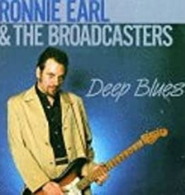 Used CD Ronnie Earl & The Broadcasters- Deep Blues