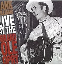 Used CD Hank Williams- Live At The Grand Ole Opry