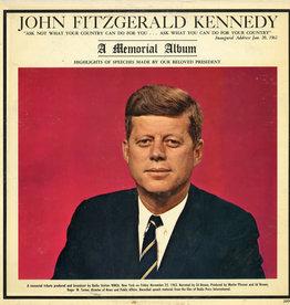 Used Vinyl John F. Kennedy- A Memorial Album