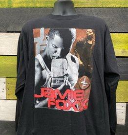 Apparel Jamie Foxx 2007 Tour Bootleg Long Sleeve Shirt, Blk, XL