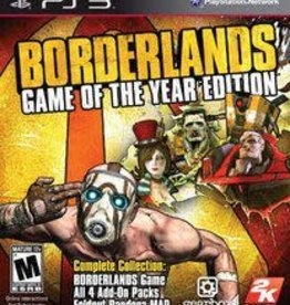 PS3 Borderlands (Game Of The Year Edition)