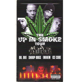 Used VHS Dr. Dre Snoop Dogg Eminem, Ice Cube- Up In Smoke Tour