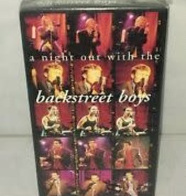 Used VHS Backstreet Boys- A Night Out With The Backstreet Boys