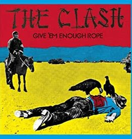 Used CD The Clash- Give 'Em Enough Rope