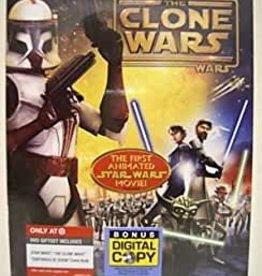 Used DVD Star Wars: The Clone Wars