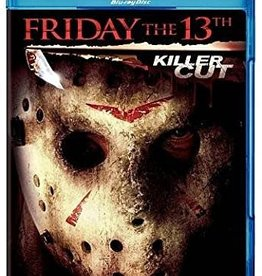 Used BluRay Friday The 13th Killer Cut