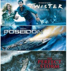 Used BluRay Twister/Poseidon/The Perfect Storm