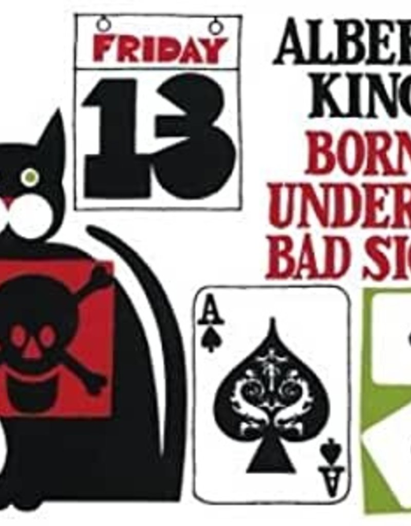 Used CD Albert King- Born Under A Bad Sign