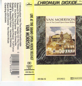 Used Cassettes Van Morrison- Live At The Grand Opera House