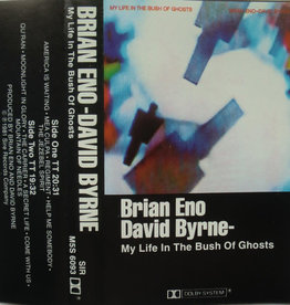 Used Cassettes Brian Eno/ David Byrne- My Life In The Bush Of Ghosts
