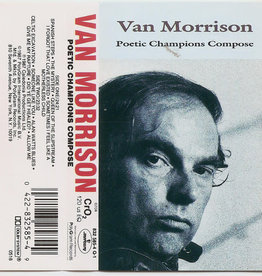 Used Cassettes Van Morrison- Poetic Champions Compose