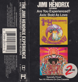 Used Cassettes Jimi Hendrix Experience- Are You Experienced/ Axis: Bold As Love