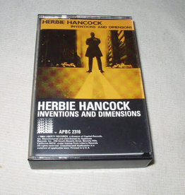 Used Cassettes Herbie Hancock- Inventions And Dimensions