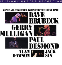 Used Vinyl Dave Brubeck- We're All Together Again For The First Time (1994 MoFi)(Anadisq 200g)(#3111)