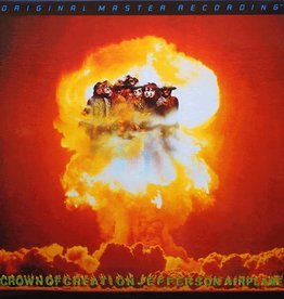 Used Vinyl Jefferson Airplane- Crown Of Creation (1989 MoFi)(#3406)