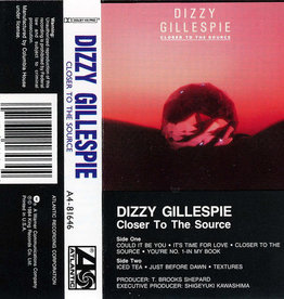 Used Cassette Dizzy Gillespie- Closer To The Source