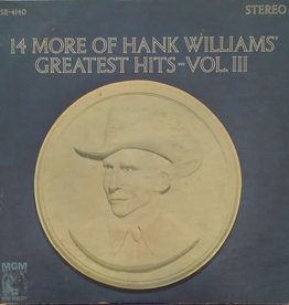 Used Vinyl Hank Williams- Greatest Hits Vol III