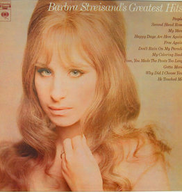 Used Vinyl Barbra Streisand- Greatest Hits