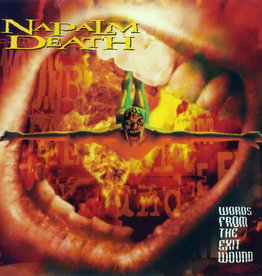 Used CD Napalm Death- Words From The Exit Wound