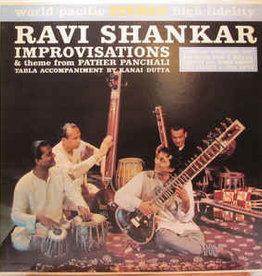 Used Vinyl Ravi Shankar- Improvisations & The Theme From Pather Panchali