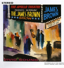 Used CD James Brown- Live At The Apollo
