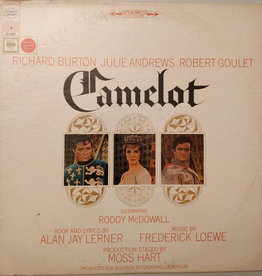 Used Vinyl Camelot Soundtrack