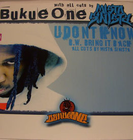 "Used Vinyl Bukue One- U Don't Know (12"")(Sealed)"