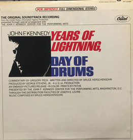 Used Vinyl John F Kennedy- Years Of Lightning, Days Of Drums