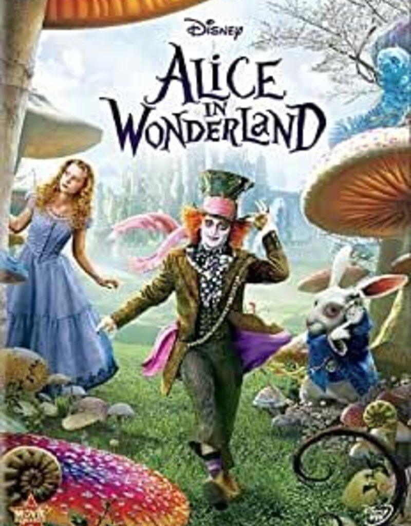Used DVD Alice In Wonderland
