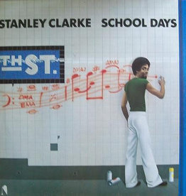 Used Vinyl Stanley Clarke- School Days (2012 Music On Vinyl Reissue)