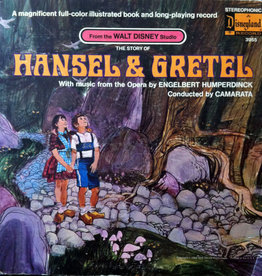 Used Vinyl Walt Disney's The Story Of Hansel & Gretel (Story+Book)(1969 Sealed)
