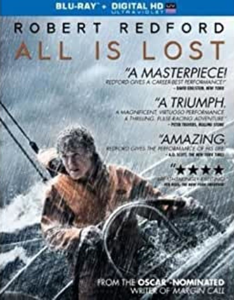 Used BluRay All Is Lost