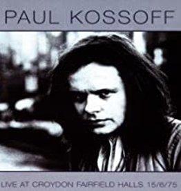 Used CD Paul Kossoff- Live At Croydon Fairfield Halls 15/6/75