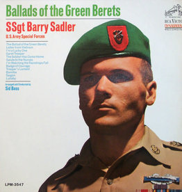 Used Vinyl SSgt. Barry Sadler- Ballads Of The Green Berets