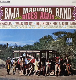 Used Vinyl Baja Marimba Band- Rides Again (German Pressing)