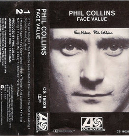 Used Cassette Phil Collins- Face Value