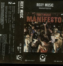 Used Cassette Roxy Music- Manifesto