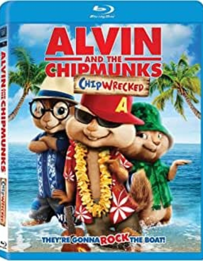 Used BluRay Alving And The Chimpunks: Chip Wrecked